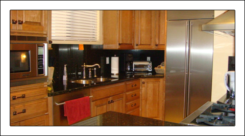 Our Kitchen is an example of the safe, confortable and relaxed atmosphere at mynewbegginingsl.com
